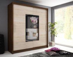 WIKI II warderobe 200 - Wardrobes with sliding doors - Novelts - Sale Furniture