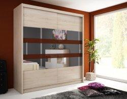 Шкаф для спальни высота 180. Шкафы с раздвижными дверями. WIKI VI шкаф 180