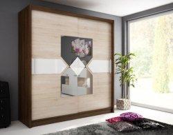 WIKI VII warderobe 200 - Wardrobes with sliding doors  - Novelts - Sale Furniture
