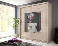 WIKI IX шкаф 180. Шкафы с раздвижными дверями. Шкаф для спальни высота 180