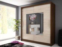 WIKI IX warderobe 200 - Wardrobes with sliding doors  - Novelts - Sale Furniture