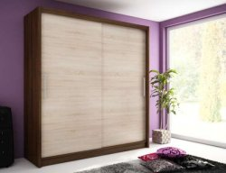 WIKI warderobe 200 - Wardrobes with sliding doors  - Novelts - Sale Furniture