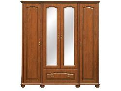 Natalia 190 шкаф. Шкафы угловые вишня ваниль. Шкафы 3-дверные