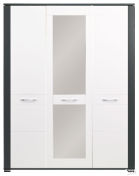 Bog Fran - Furniture Manufacturer Poland - Cases 3-door - Popular NAOMI cupboard NA 8