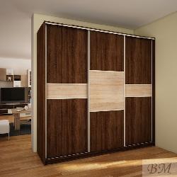 Skapis PUERTO 220D - Skapji ar bīdāmām durvīm  - Jaunumi - NoPirkt KurPirkt Mēbeles