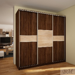 PUERTO 240D  case - Wardrobes with sliding doors - Novelts - Sale Furniture
