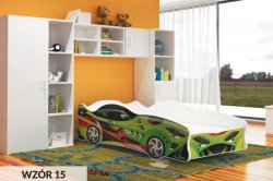 CARS 160 bed - Poland - AJK meble - Carbeds - Childrens room