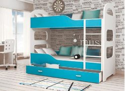 DOMINIK bunk bed - trible bunk bed - Bunk beds