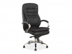 Где купить кожаное офисное кресло Q-154 ādas krēsls