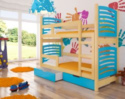 Bunk beds - Osuna bunk bed - trible bunk bed