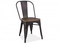 Loft krēsls Plastikāta krēsli Plastmasas saliekamas mēbeles