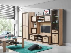 Bog Fran - Furniture Manufacturer Poland - Modern wall units - Popular BOSS 1 wall unit