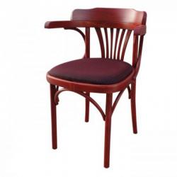 Венское кресло Roza (с мягким сиденьем). Кухни в деревянном доме. Венские стулья