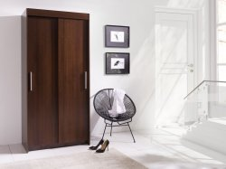 Wardrobes with sliding doors - Sell-out KARO 120 warderobe Sale Furniture