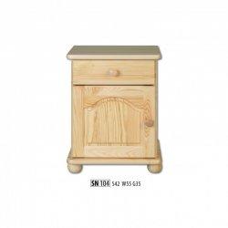 Прикроватные тумбочки - SN104 ночной шкафчик - деревяні тумбочки своїми руками