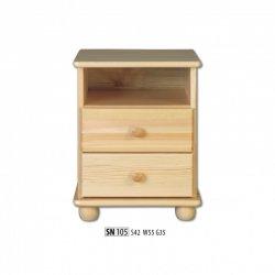 Прикроватные тумбочки - SN105 ночной шкафчик - деревяні тумбочки своїми руками