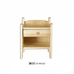 Прикроватные тумбочки - SN107 ночной шкафчик - деревяні тумбочки своїми руками