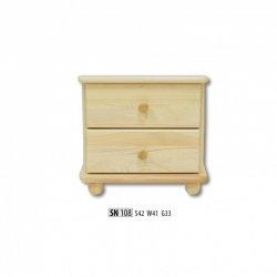 Прикроватные тумбочки - чертежи прикроватную тумбочку - SN108 ночной шкафчик