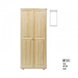 SF103 warderobe - Cases 2-door  - Novelts - Sale Furniture