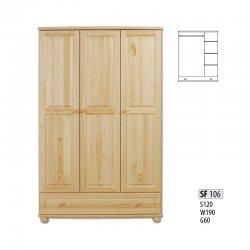 Шкафы 3-дверные. Двери в шкаф. SF106 шкаф