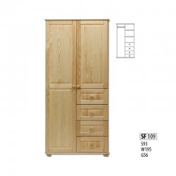 Cases 2-door - Сostly SF109 warderobe Sale Furniture
