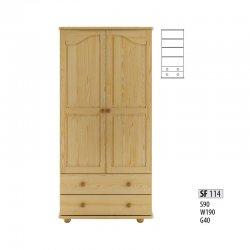 SF114 skapis - шкаф двухдверный металлический - Skapji 2-durvju