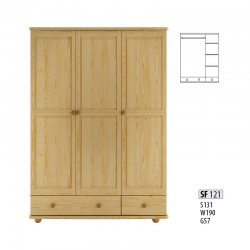 Cases 3-door - Сostly SF121 warderobe Sale Furniture