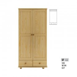 SF122 skapis - Skapji 2-durvju - Jaunumi - NoPirkt KurPirkt Mēbeles
