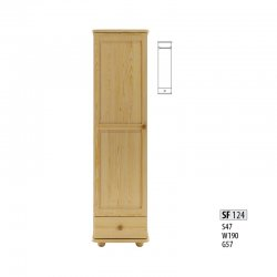 Cases 1-door - Сostly SF124 warderobe Sale Furniture