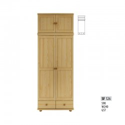 Cases 2-door - Сostly SF126 warderobe Sale Furniture
