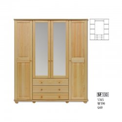 Cases 4-door - Novelts SF130 warderobe Sale Furniture