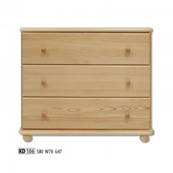 KD106 chest of drawers - Dressers  - Novelts - Sale Furniture