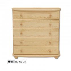 KD151 chest of drawers - Dressers - Novelts - Sale Furniture