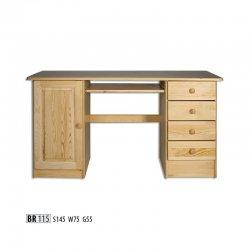 BR115 компьютерный стол - Столы компьютерные  - Новинки - Купить Мебель