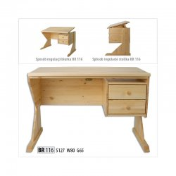 BR116 компьютерный стол - Столы компьютерные  - Новинки - Купить Мебель