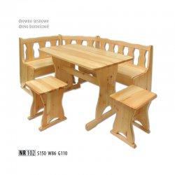 Кухонные уголки. NR102 кухонный уголок. Кухонный уголок с спальным местом