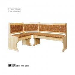 NR107 кухонный уголок - диван кухонный угловой гомель - Кухонные уголки
