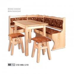 Кухонные уголки - мягкий уголок анжелика - NR112 кухонный уголок