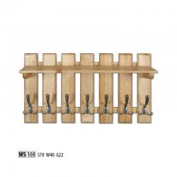 Pakaramais siena. WS108 вешалка. Вешалки для одежды