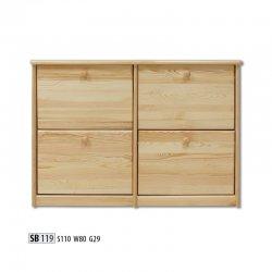 SB119 обувной шкафчик. Шкафчики для обуви. Плетеная банкетка Yusk
