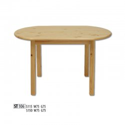 Круглые столы. Стол круглый деревянный модерн. ST106 деревянный стол 115