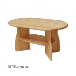 Žurnālu galdi - ST112 koka galds - moderni galdi rīgā