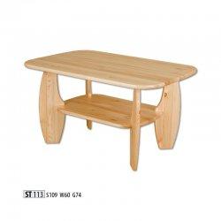 Žurnālu galdi - moderni galdi rīgā - ST113 koka galds