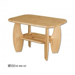 ST114 koka galds - moderni galdi rīgā - Žurnālu galdi