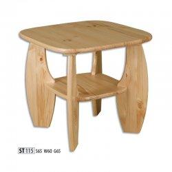 Žurnālu galdi - ST115 koka galds - moderni galdi rīgā