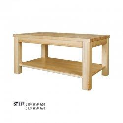 ST117 деревянный стол 120 - столешница ширина 120 - Журнальные столы
