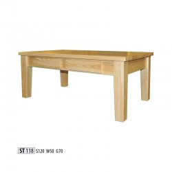 Žurnālu galdi - moderni galdi rīgā - ST118 koka galds