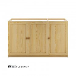 Virtuves stūra skapis poļu mēbeles Zemākas skapīši KW111 apakšējais skapītis