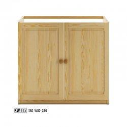 Zemākas skapīši KW112 apakšējais skapītis Virtuves stūra skapis poļu mēbeles