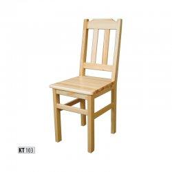 Koka krēsli - nopirkt no koka pirti - KT103 koka krēsls